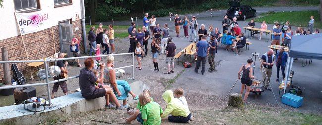 Sommerfest IG Klettern