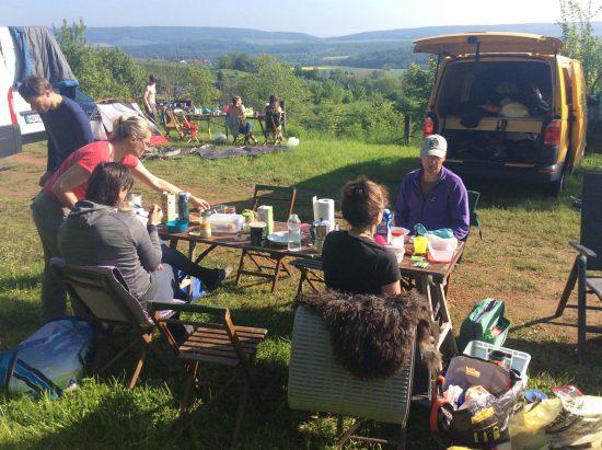 Niedersachsen: Alternative für den Ithzeltplatz: Der Camping in Capellenhagen